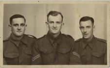 3 soldiers from The Royal Welsh Fusiliers