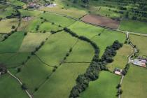 WAT'S DYKE: FROM SOUTH-EAST OF WHITEHOUSE...