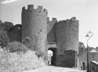 CONWY, TOWN WALLS