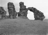 CASTELL DINAS BRAN (RUINED CASTLE)