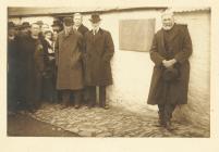 Daflen ar 'Ffynnon Llewelyn, Rhydowen, 1922