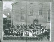 Bethania, Maesteg: School pupils, 1904