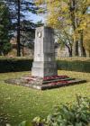 The Cardiff Welsh Regimental war memorial