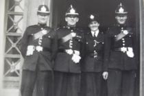 Glamorgan Constabulary Assize Court duty 1953
