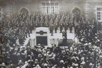 Glamorgan Constabulary War Memorial Ceremony 1925