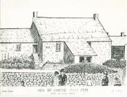 Drawing of Hen Dŷ Cwrdd, Trecynon