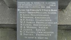 Penrhyn-coch War Memorial