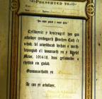 Certificate of Jack Jones, Penrhyn-coch