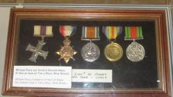 Medals of Lt William Parry
