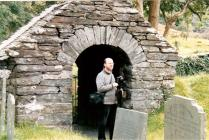 Ray Gunn at Tal-y-Llyn, Church. 2001