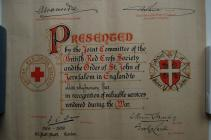 Certificate Myfanwy Rees, Bow Street