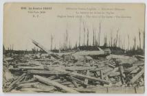 WW1 Postcard of English French attack - the...