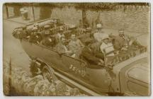 Charabanc party in the Swansea area