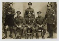 Photo of Willi (John William Edwards) back left...