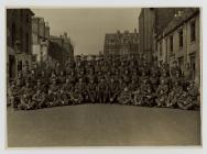 Photo of an army brigade in Germany