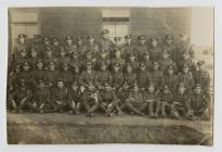 Photo of the regiment which Thomas Rhys Perkins...