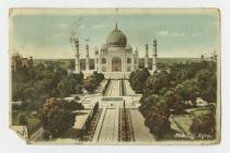 Post cards of The Taj, Agra, India from Capt...
