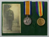 First World War service medals belonging to...
