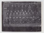 A group of young men in uniform