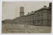 Postcard of Inkerman Barracks from Walter Crane...