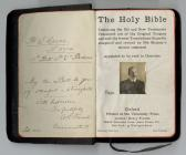 Walter Crane's Holy Bible Inside cover pages