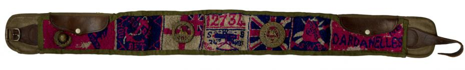 Walter Crane's Belt from his time during WW1