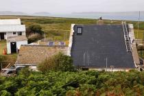 South elevation of the Skokholm cottage roof...