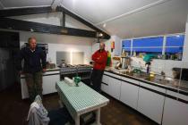 Skokholm kitchen ready for the season