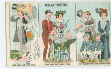 cartoon postcard