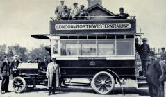 Connah's Quay to Mold Bus c1910