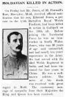 Moldavian Killed in Action - Flintshire...