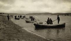 Ferryside & Llanstephan Salmon Boats c1910