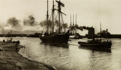 Rhyl Harbour c1910