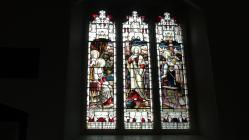 Machynlleth church window