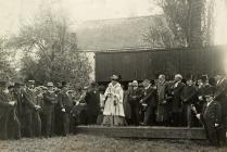 Opening Ceremony of the Monmouth Rifle Club, 1909
