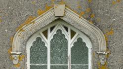Talywern chapel window