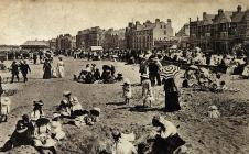 Rhyl Beach c1917