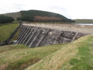 Nant-y-Moch dam, 2010