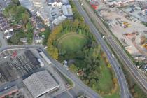 DOMEN GASTELL; WELSHPOOL, EARTHWORK CASTLE