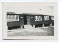 Caban bwyta gwersyll Yr Urdd, Llangrannog. 1958