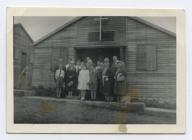 Agoriad capel gwersyll Yr Urdd, Llangrannog. 1957