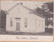Salem Church, Ebensburg, Cambria County,...