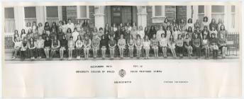 Alexandra Hall residents 1971/72, University...