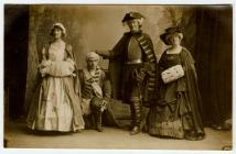 Actors in the Aberystwyth Amateur Operatic...