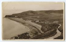 Post Card from Clarach Bay 5th July 1938.