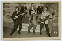 The Streamline Gamblers', a skiffle group,...