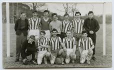 Penparcau football team, 1960's