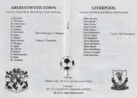 Aberystwyth Town vs Liverpool football...