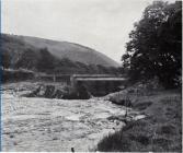 Felin Newydd bridge, Capel Bangor in 1955