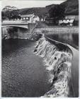 The weir and Felin Newydd Bridge, Capel Bangor